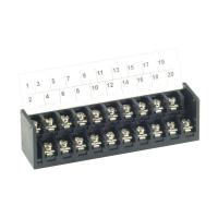 7.62mm pitch, 15A 300VAC, CBP120 Dual Level PCB Barrier Terminal Blocks