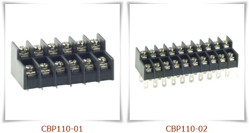 CBP110 Dual Level PCB Barrier Terminal Blocks